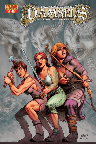 Damsels #6 Cover