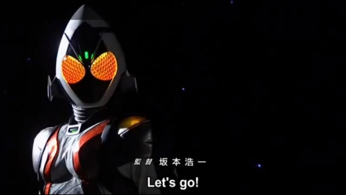 Kamen Rider Fourze - Let's Go