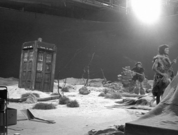 An Unearthly Child set