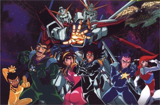 G Gundam: Group Shot