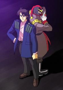 G Gundam: Kyoji and Schwarz