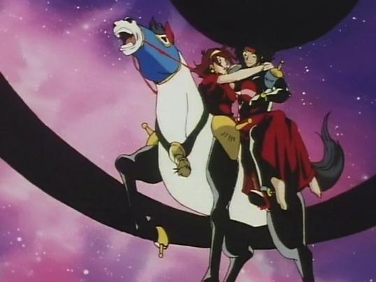 G Gundam: Fuunsaiki, Domon and Rain