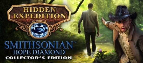Hidden Expedition: Smithsonian Hope Diamond Banner