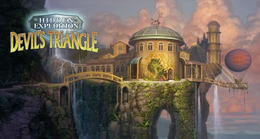 Hidden Expedition: Devils Triangle - Logo