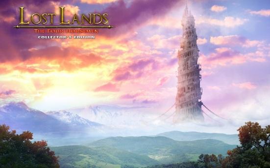 Lost Lands - The Four Horsemen Logo