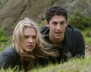 Power Rangers Megaforce Gia and Jake