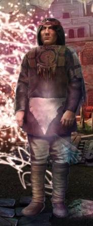 MotW Spirit Wolf Man