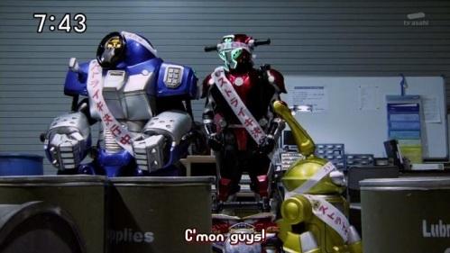 Tokumei Sentai Go-Busters Buddyroids