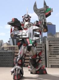 Tokumei Sentai Go-Busters Gamma Zord