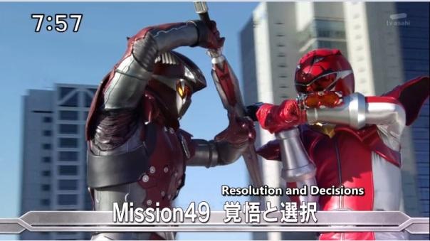 Tokumei Sentai Go-Busters Enter vs Hiromu