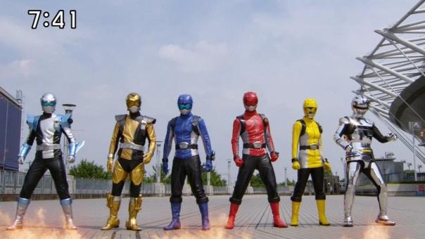 Tokumei Sentai Go-Busters Lineup
