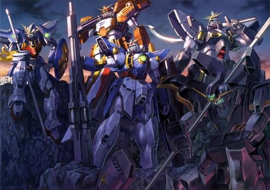 Gundam Wing Mechs