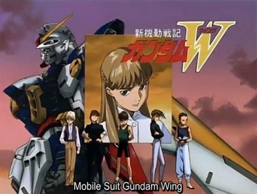Gundam Wing Screen 1