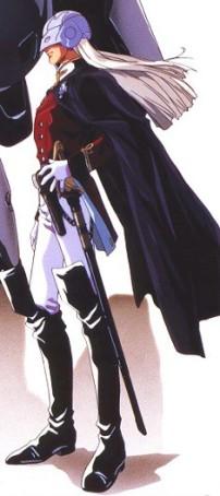 Gundam Wing Zechs Merquise