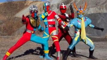 Super Hero Taisen Z Ishinomori Heroes