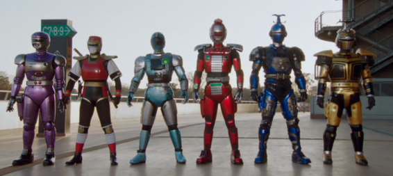 Super Hero Taisen Z Metal Hero