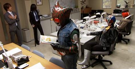 Kamen Rider Wizard Cops